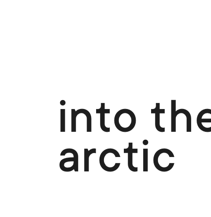 into the arctic logo